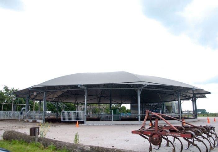 Roundhouse bij Poldersport in De Kwakel. Een echte buitensport locatie